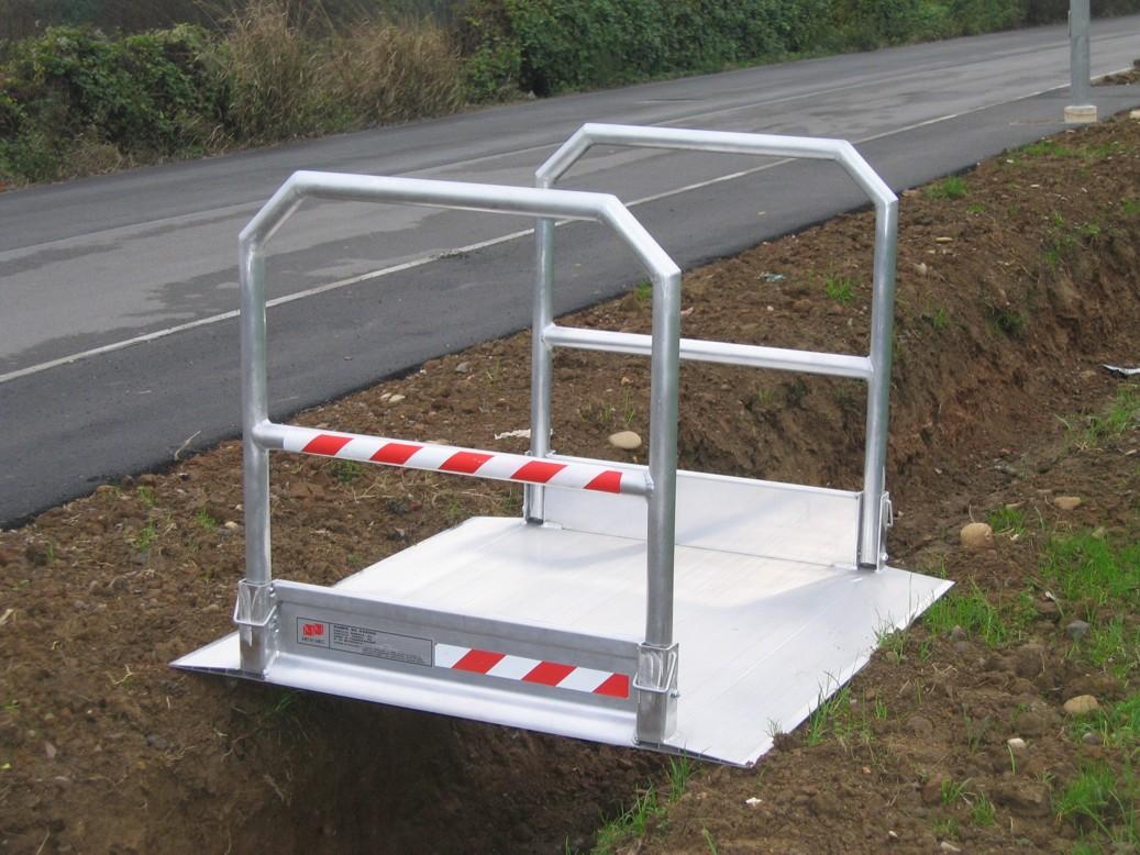 Mobilný mostík prenosný