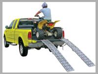 ATV skladacie nájazdy pre štvorkolky, motorky, kosačky a iné
