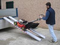 Hliníkové nájazdy pre záhradnú techniku do 1500kg