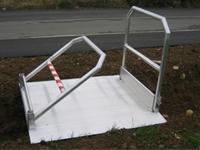 Hliníkové prenosné mostíky