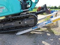 Nájazdy pre ťažkú techniku i pre oceľové pásy
