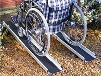Prenosné zasúvacie nájazdy pre invalidné vozíky