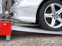 Protišmykové rampy pre autá, motorky a iné stroje